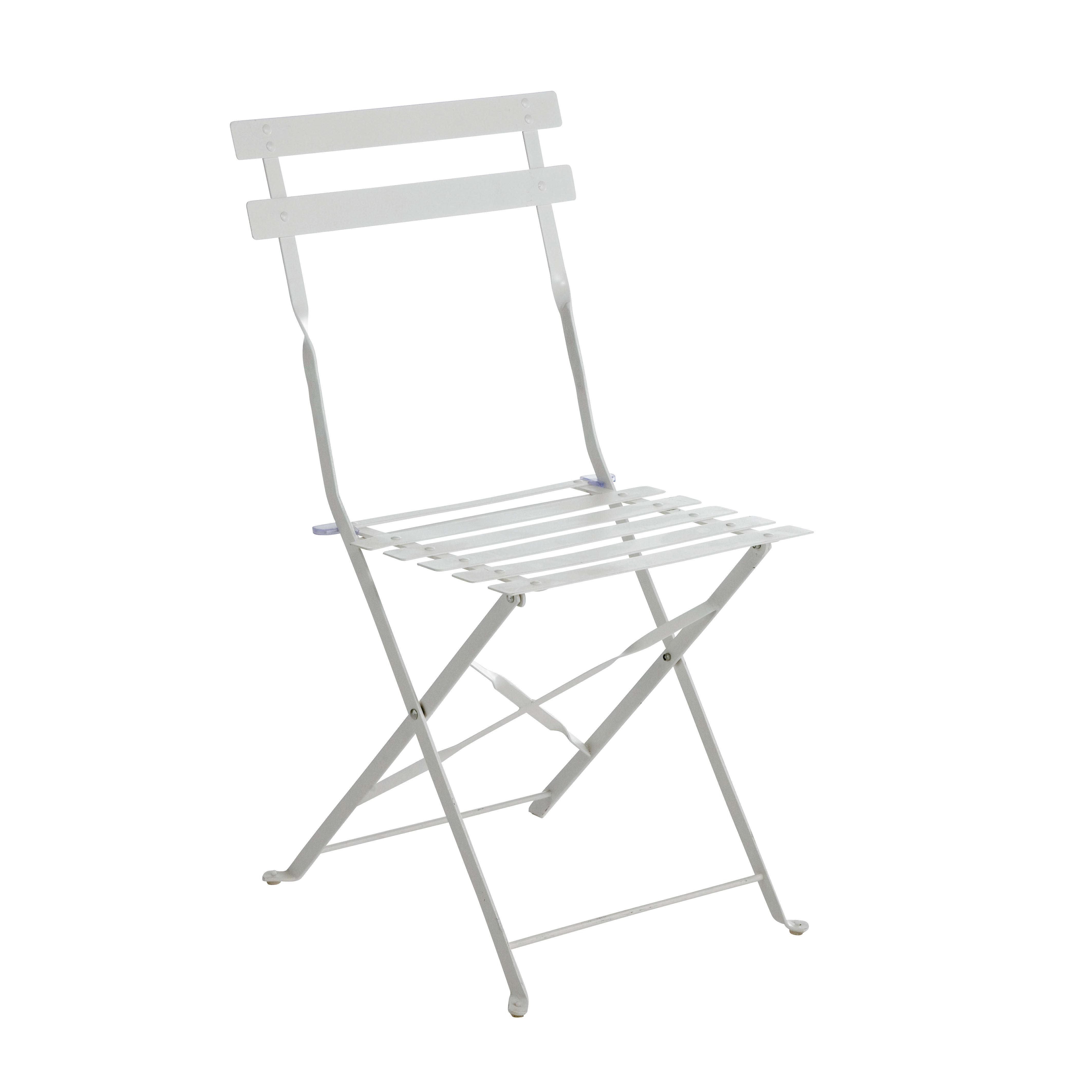 Sedie Pieghevoli In Offerta.Sedia In Acciaio Color Colore Bianco Prezzi E Offerte Online