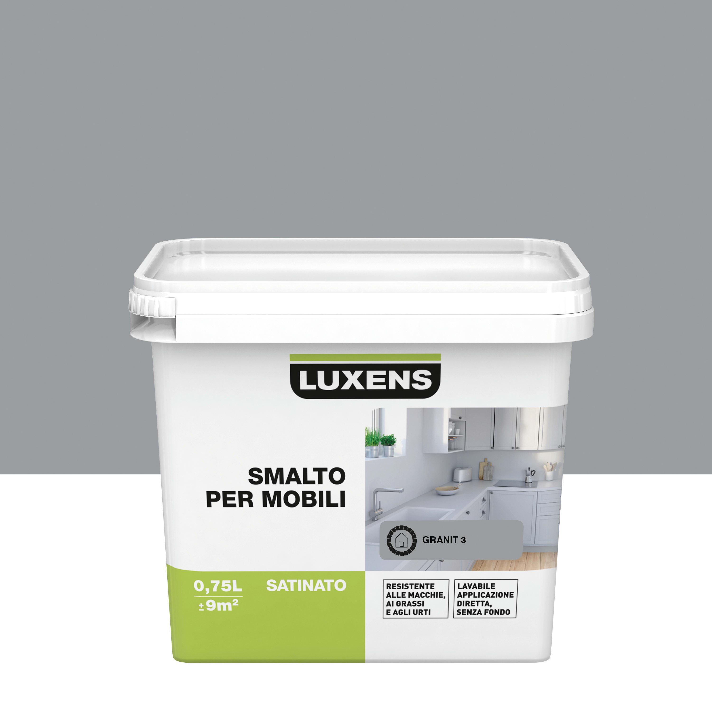 Pittura Resistente Ai Graffi pittura di ristrutturazione mobile cucina luxens 0.75 l grigio granito 3