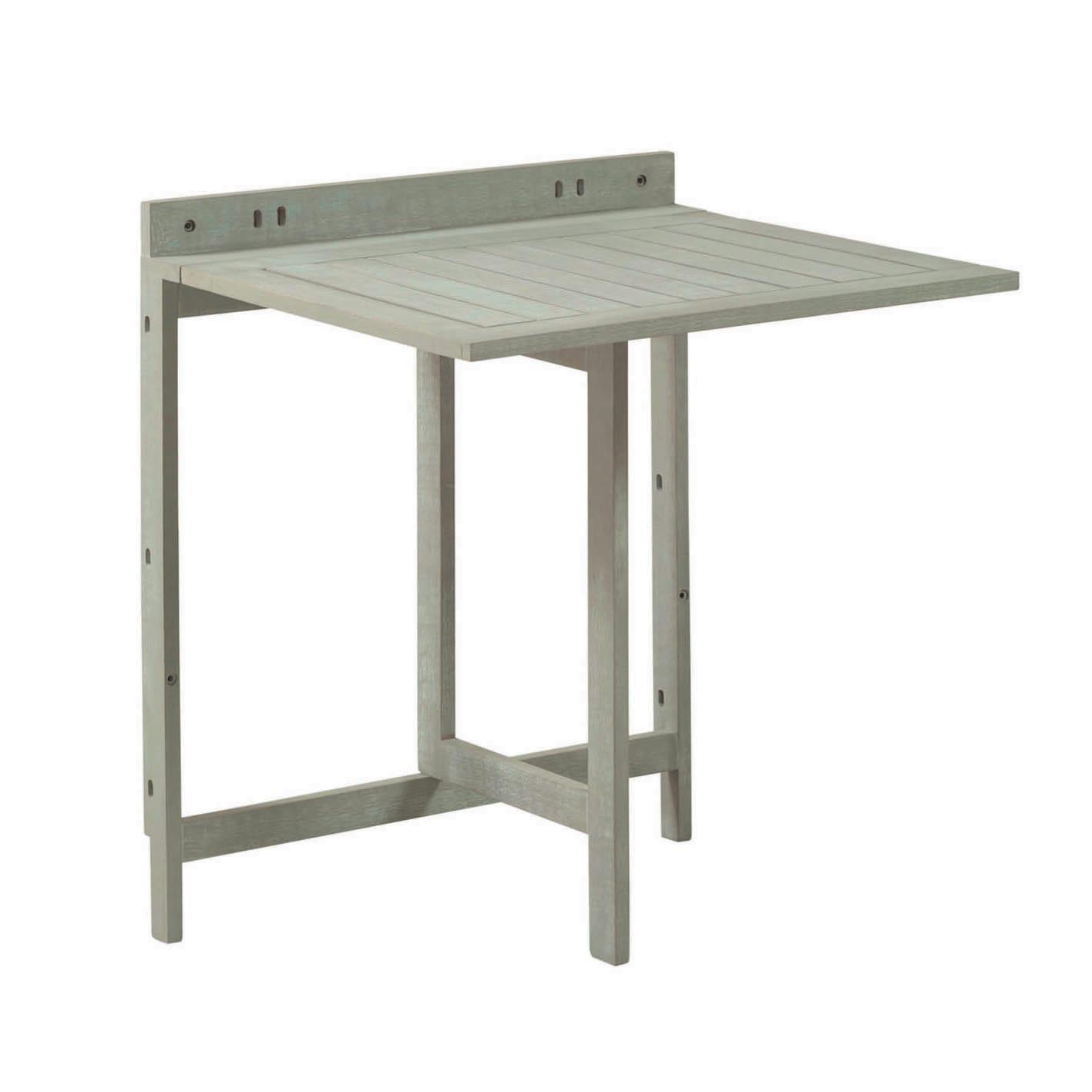 Leroy Merlin Mobili Da Balcone tavolo da giardino allungabile rettangolare naterial con piano in legno l  10.5 x p 70 cm