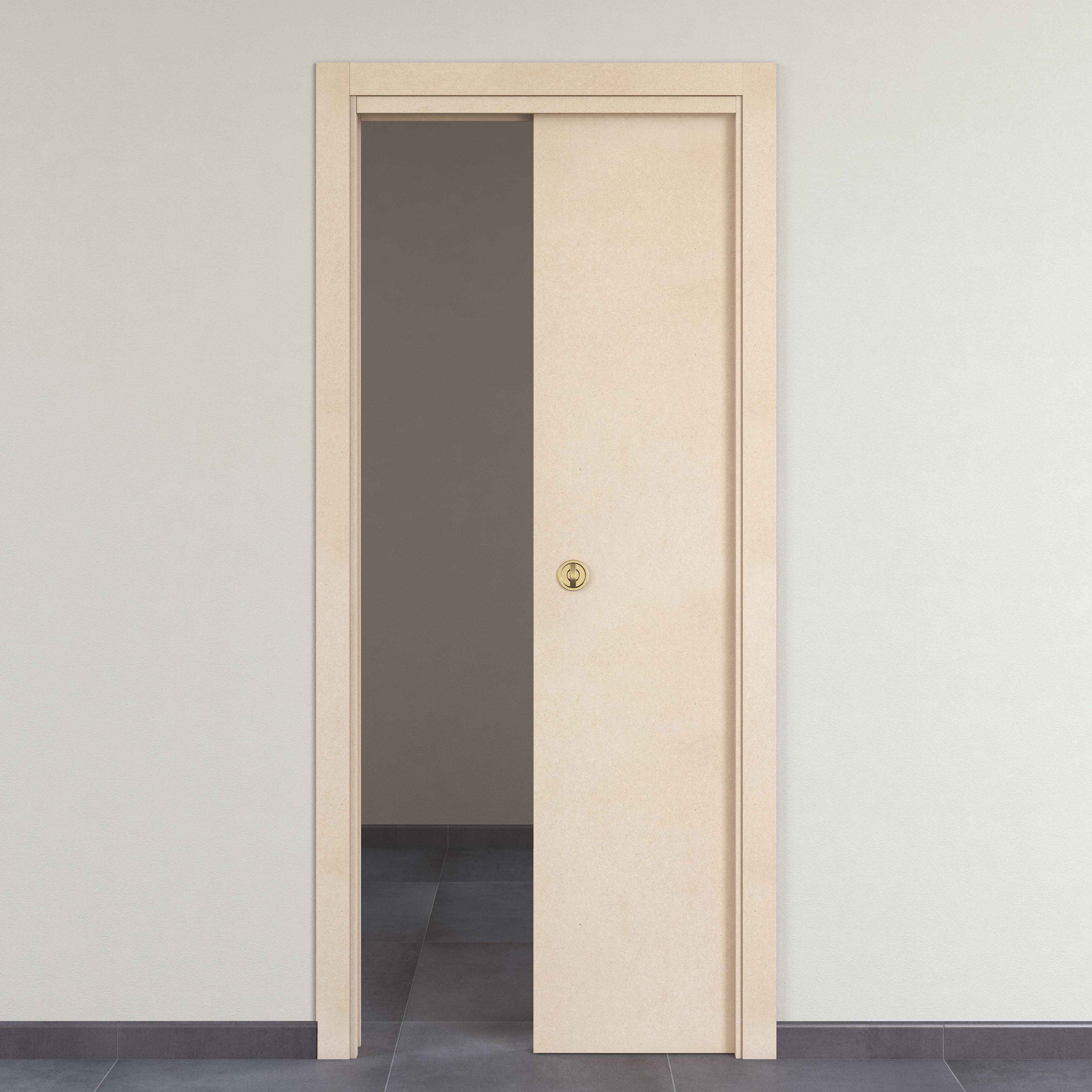 Porta Scrigno 60 Cm porta scorrevole a scomparsa saint germain naturale l 60 x h 210 cm  reversibile