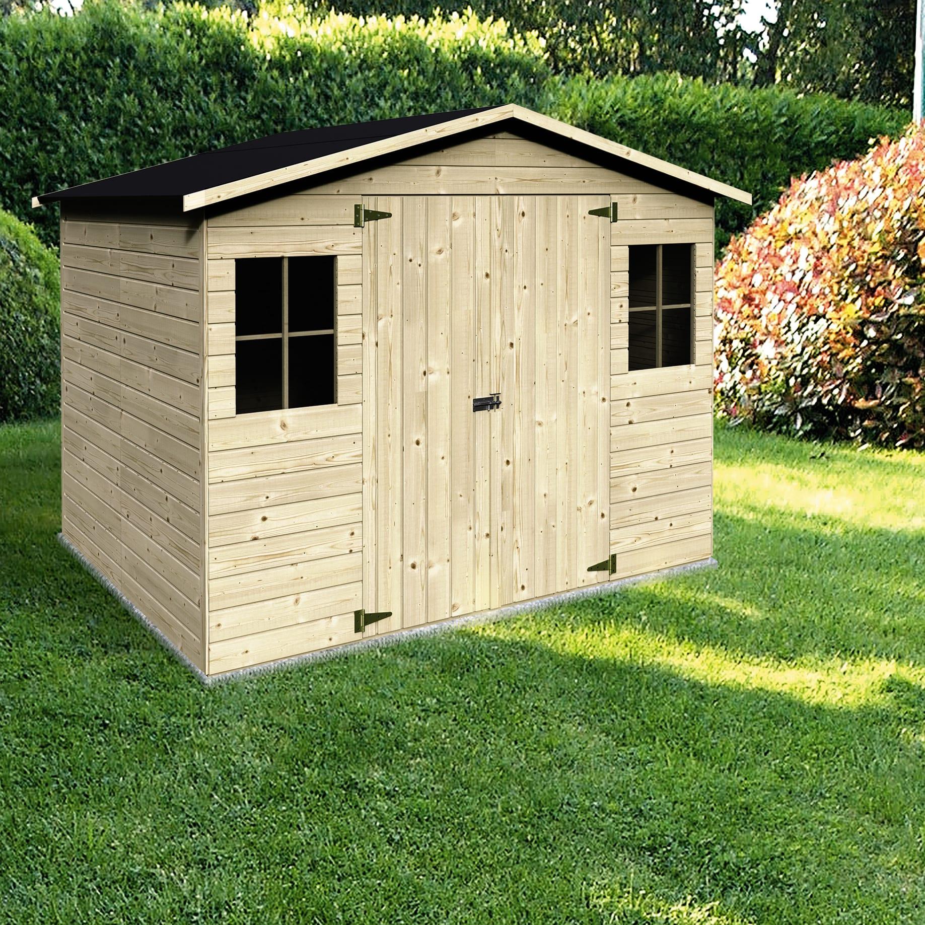 Casette In Legno Terrazzo Permessi casetta da giardino in legno bouganvillea, superficie