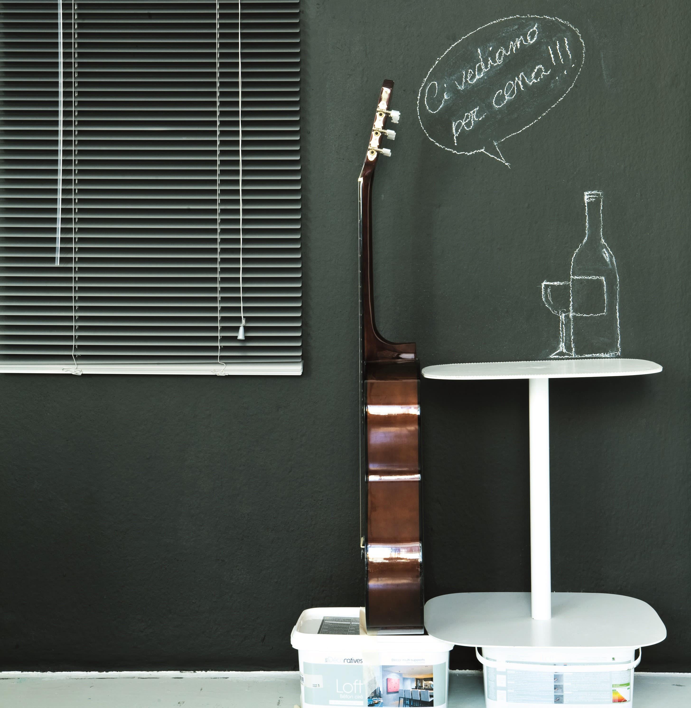 Vernice Lavagna Magnetica Colorata pittura lavagna les decoratives nero 0.5 l