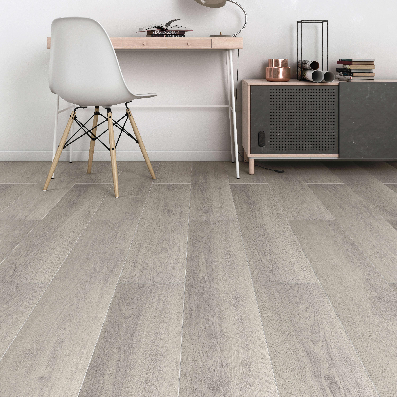 Parquet Leroy Merlin Qualità pavimento laminato ermelo sp 8 mm grigio / argento