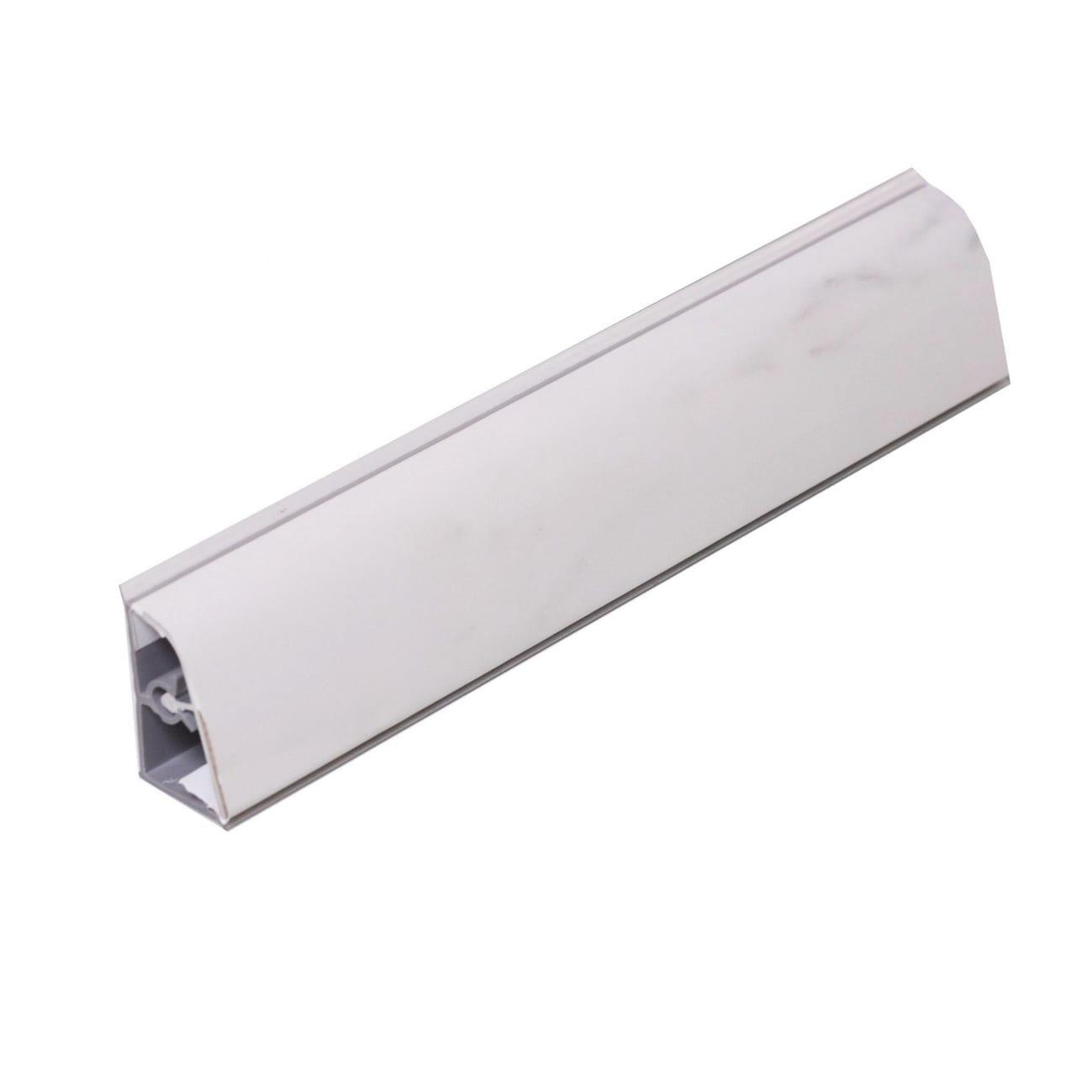 Alzatina Alluminio Per Cucina alzatina pvc marmo bianco l 300 x sp 3 cm