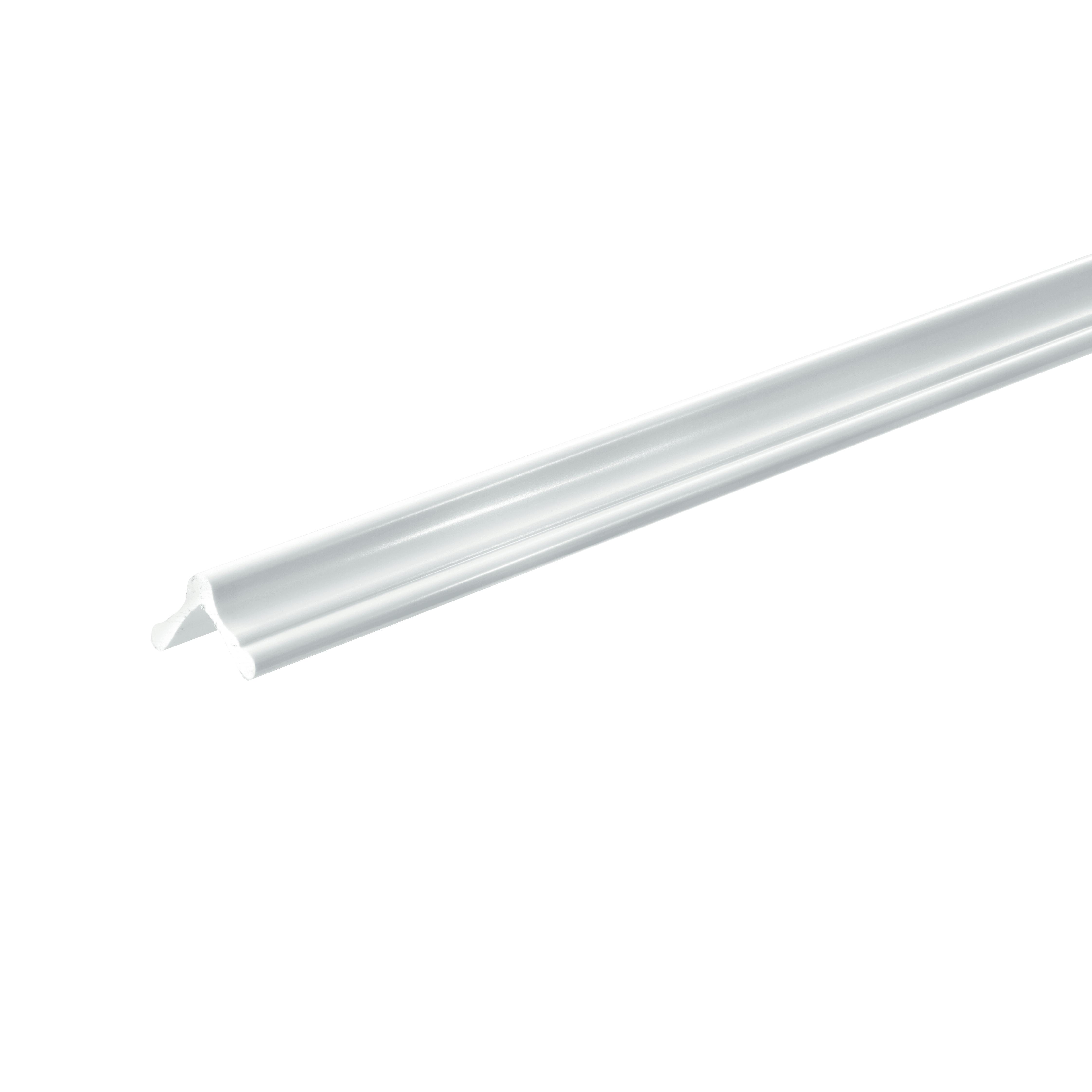 Profilo Angolare Simmetrico In Pvc 3 M X 2 2 Cm Bianco