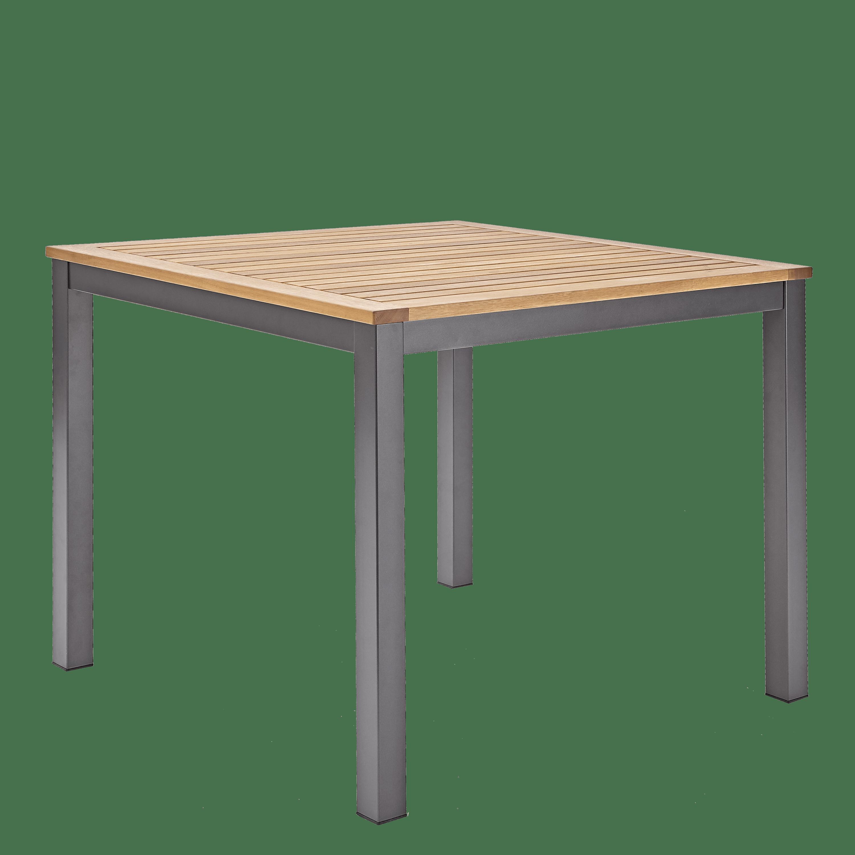 Tavolo Da Giardino Quadrata Oris Naterial Con Piano In Legno L 89 X P 89 Cm Prezzo Online Leroy Merlin
