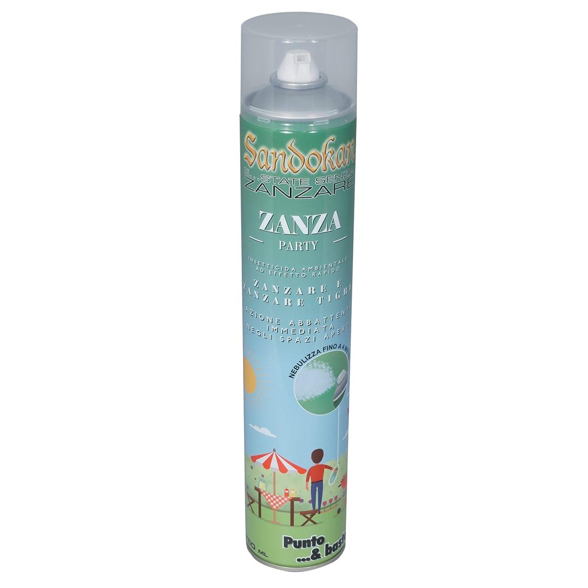 Repellente Naturale Per Vespe insetticida spray per zanzare, calabroni sandokan zanza party 750