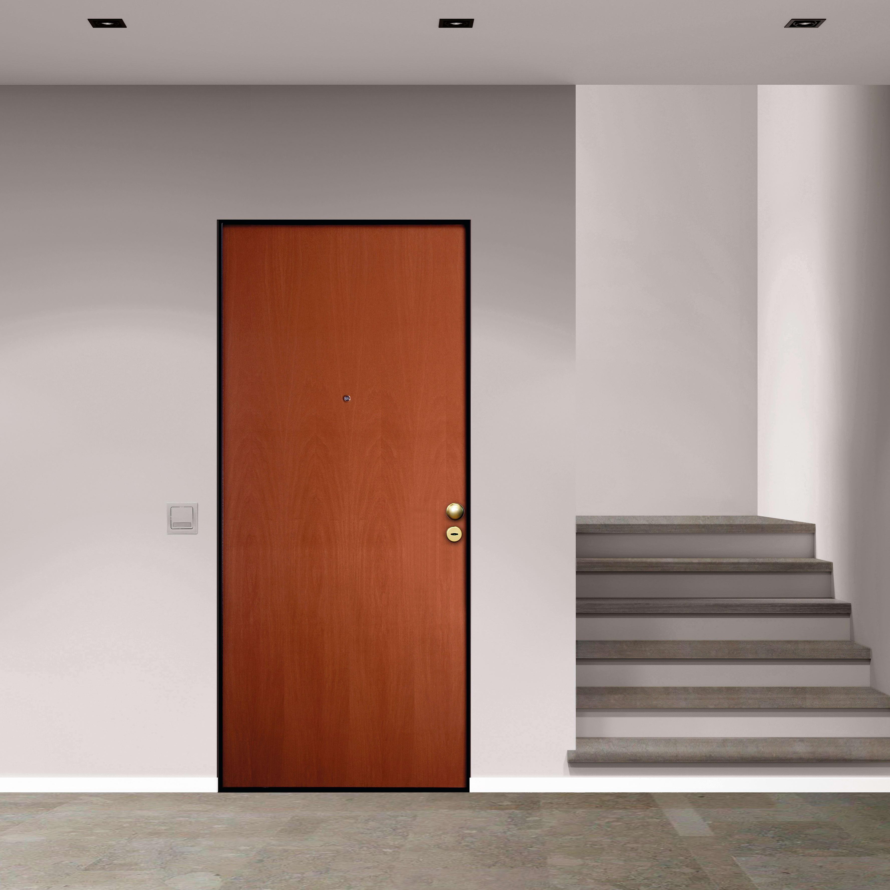 Sostituire Pannello Porta Blindata porta blindata good noce l 90 x h 210 cm sinistra