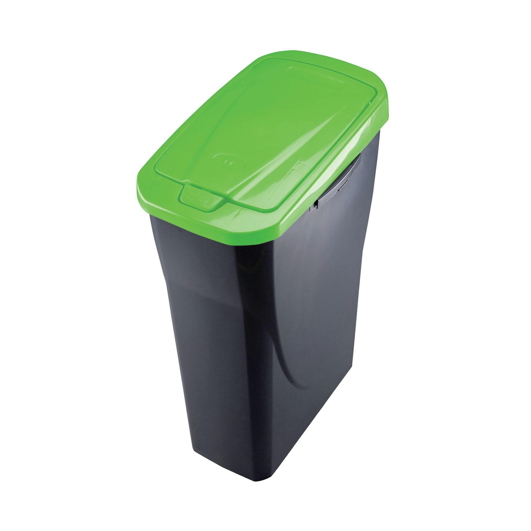 Leroy Merlin Contenitori Di Plastica.Pattumiera A Pedale Grigio 25 L