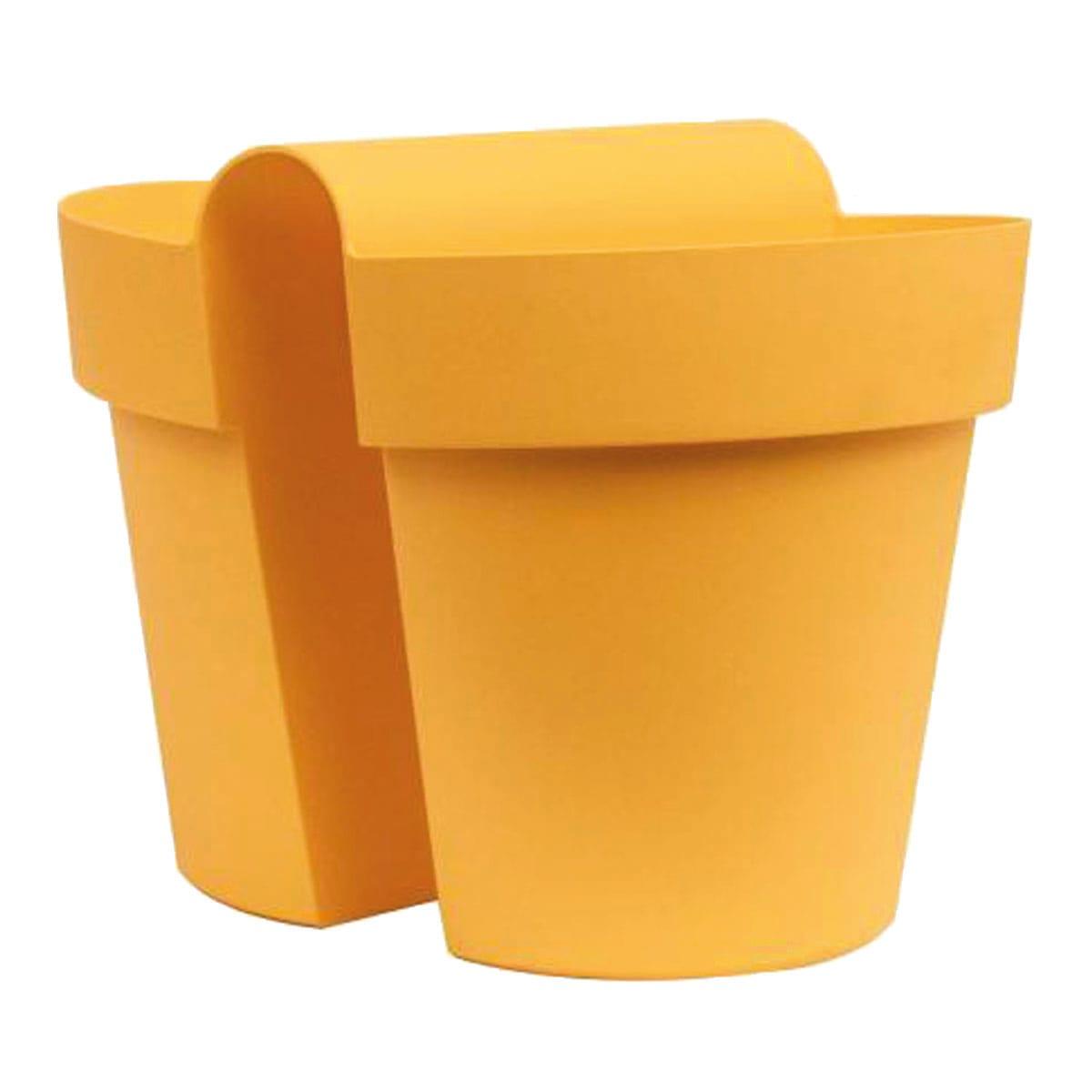 Leroy Merlin Fioriere Da Balcone vaso be-up euro3plast in plastica