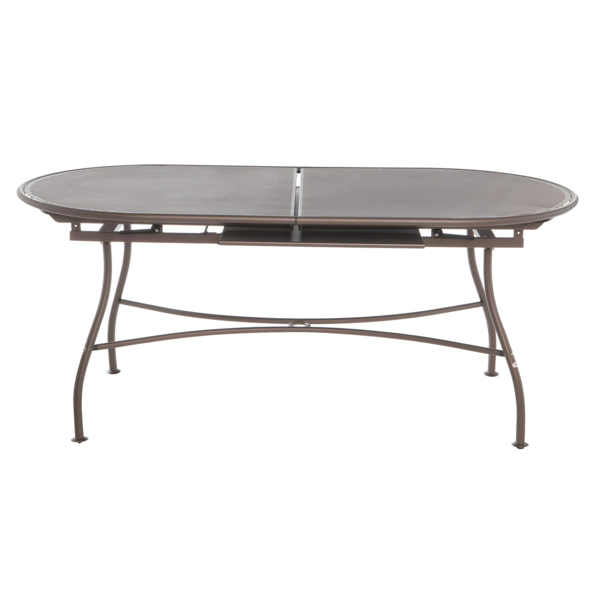 Emu Piano Tavolo Allungabile.Tavolo Da Giardino Allungabile Evo Con Piano In Alluminio L 180 X