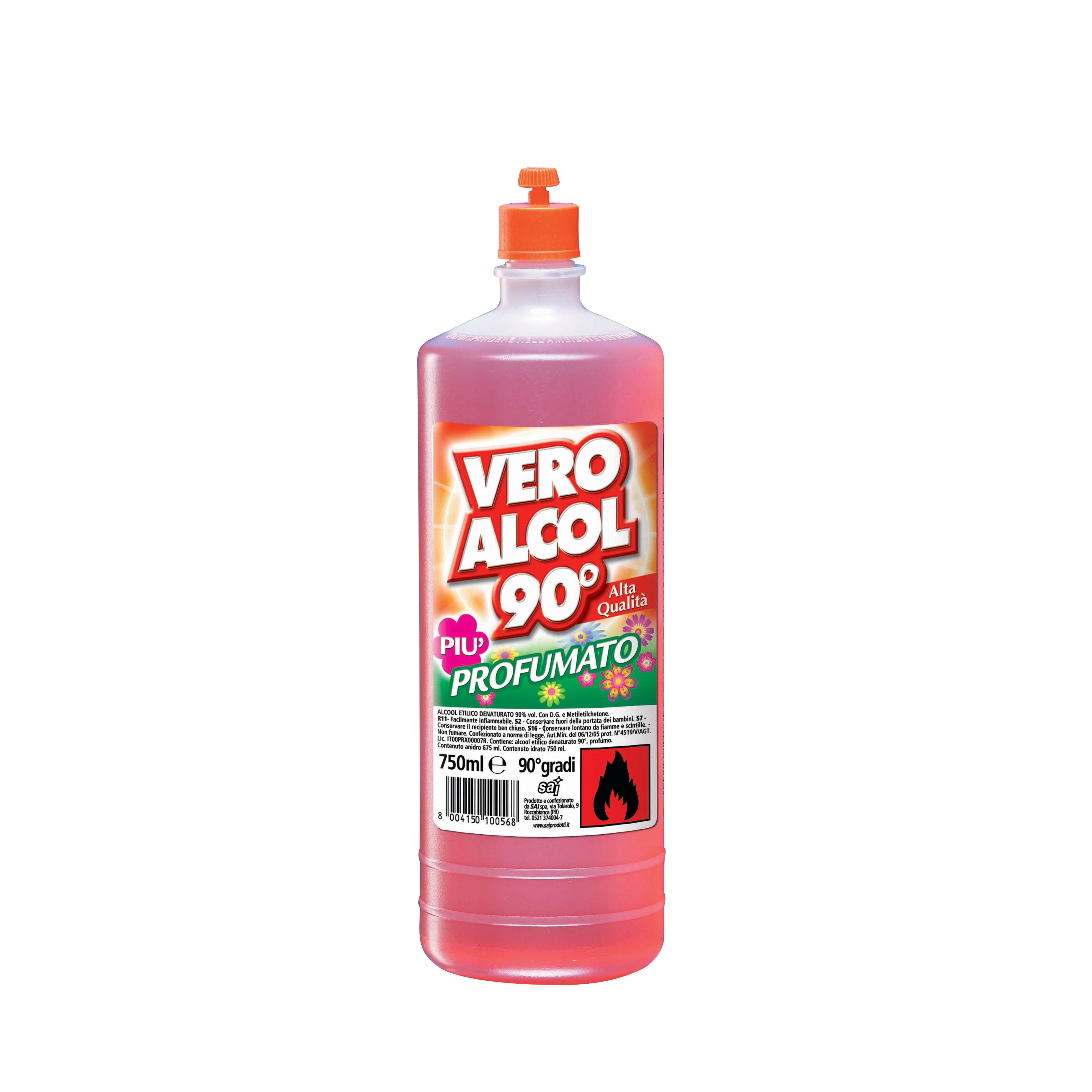 alcool denaturato per profumi vendita