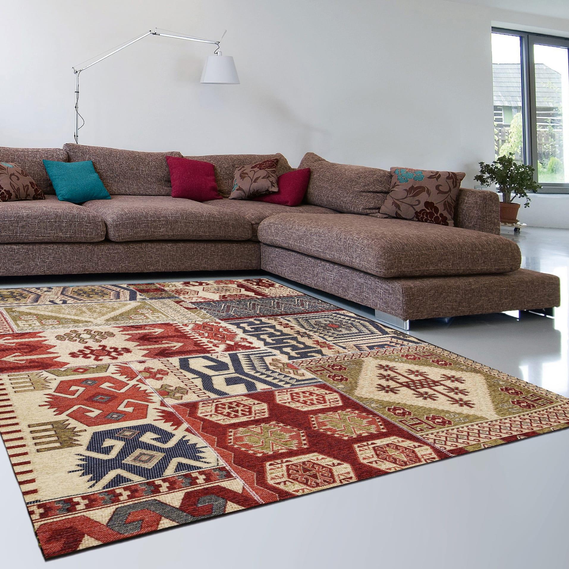 Quadri Cucina Leroy Merlin tappeto modern kilim multi , multicolor, 200x285 cm prezzi e