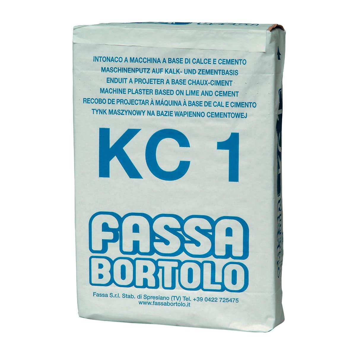 Cemento Premiscelato Per Top Cucina intonaco fassa bortolo kc1 25 kg