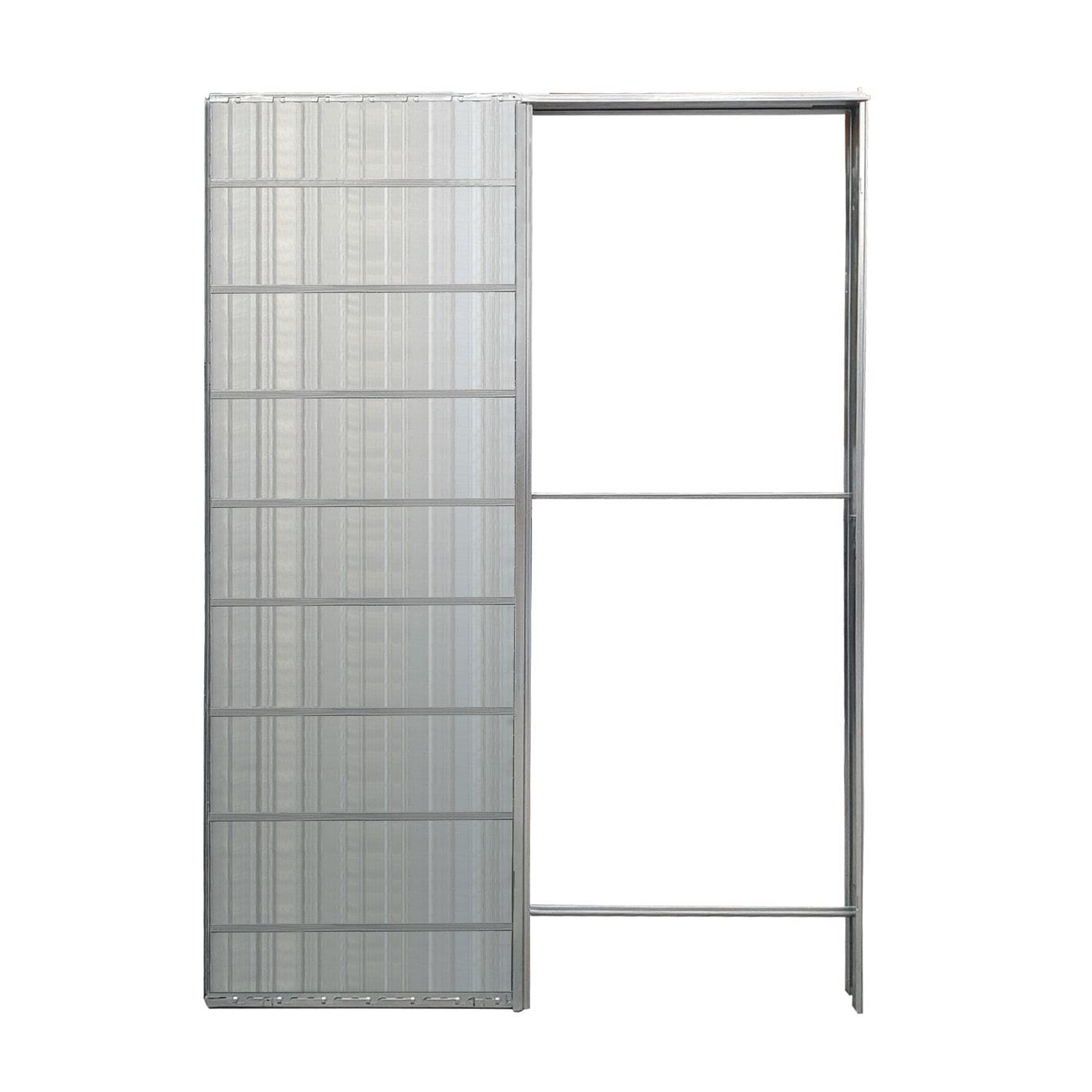 Porta Scrigno 60 Cm controtelaio porta scorrevole per cartongesso l 60 x h 200 cm
