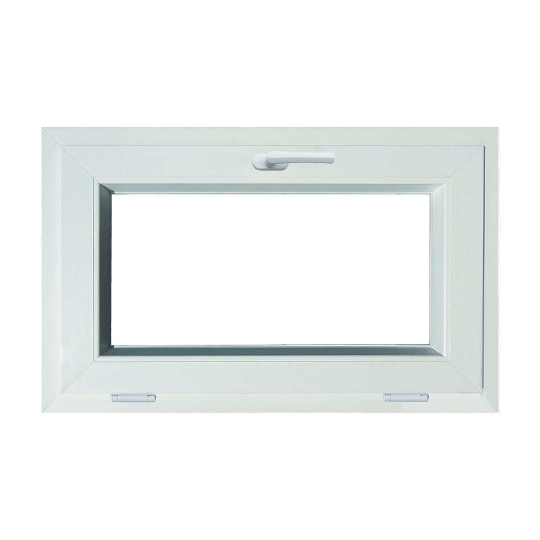 Finestra Oblò Leroy Merlin finestra in pvc bianco l 80 x h 50 cm