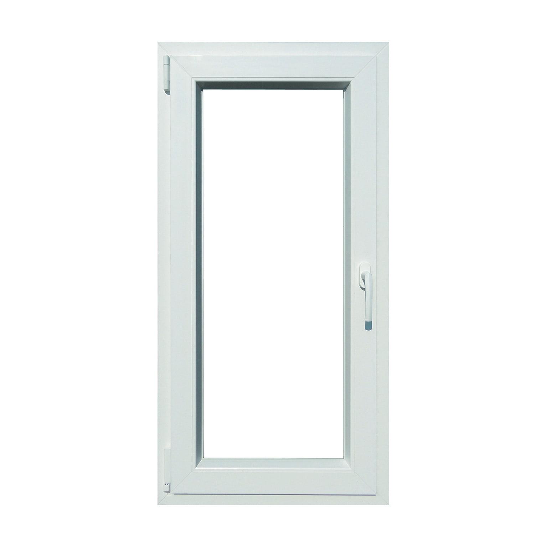 Finestra Oblò Leroy Merlin finestra in pvc bianco l 60 x h 120 cm