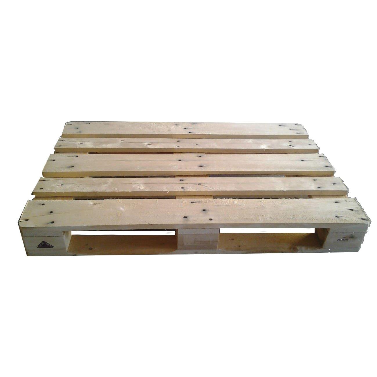 Legno Online Su Misura pallet in legno grezzo 120 x 80 cm