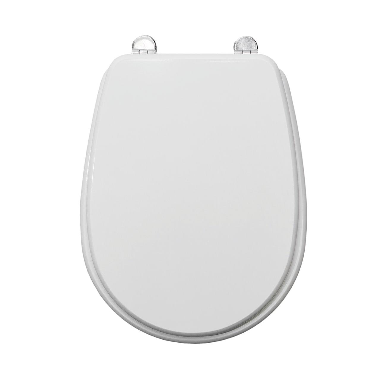 Copriwater Ovale Universale Liuto Mdf Bianco Prezzi E Offerte
