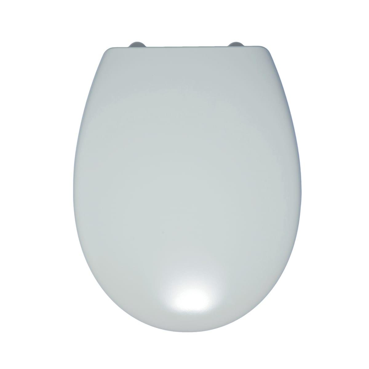Vaso Ceramica Dolomite Miky.Copriwater Ovale Miky New Bianco
