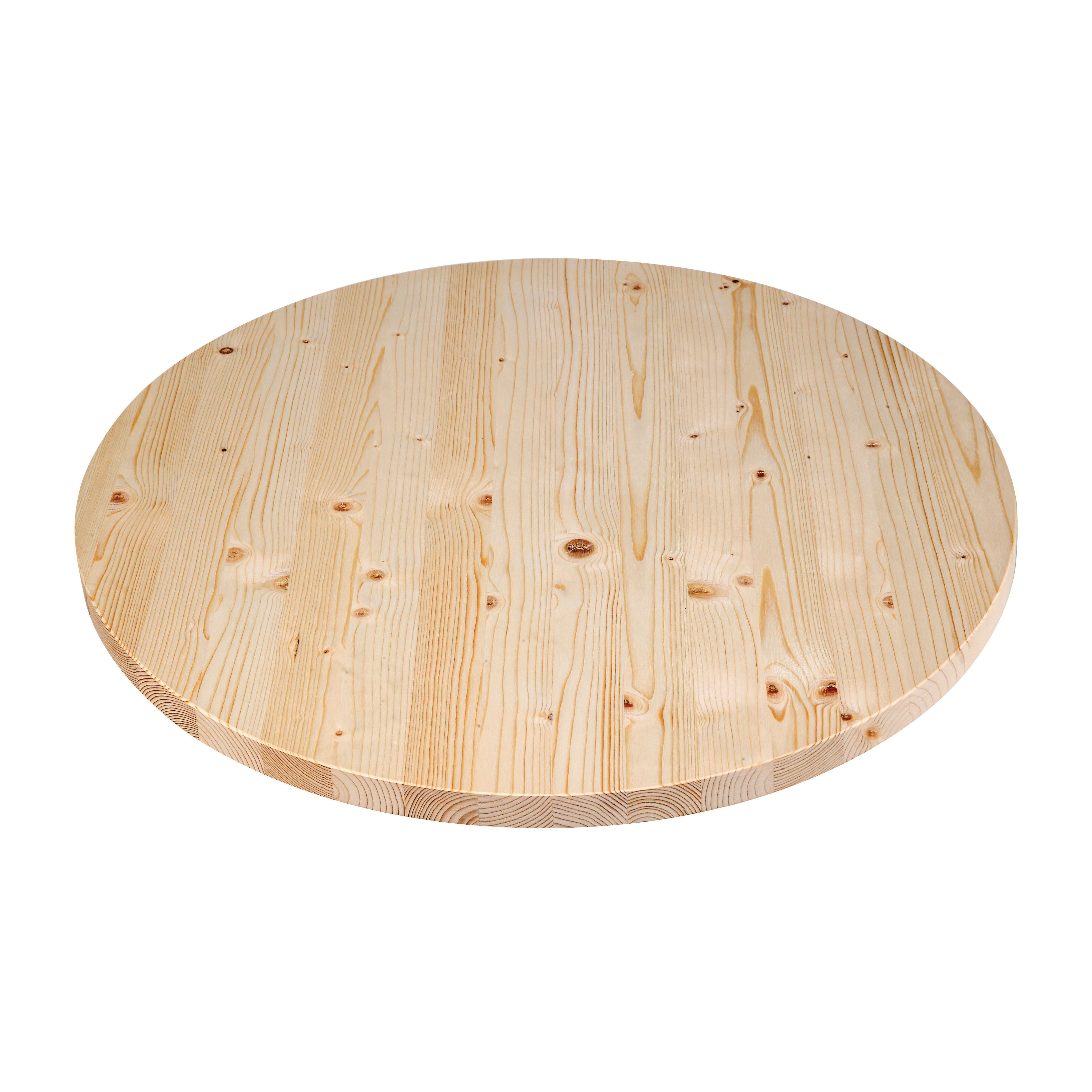 Legno Grezzo Per Tavoli tavola tondo grezzo 28 mm Ø 1200 mm