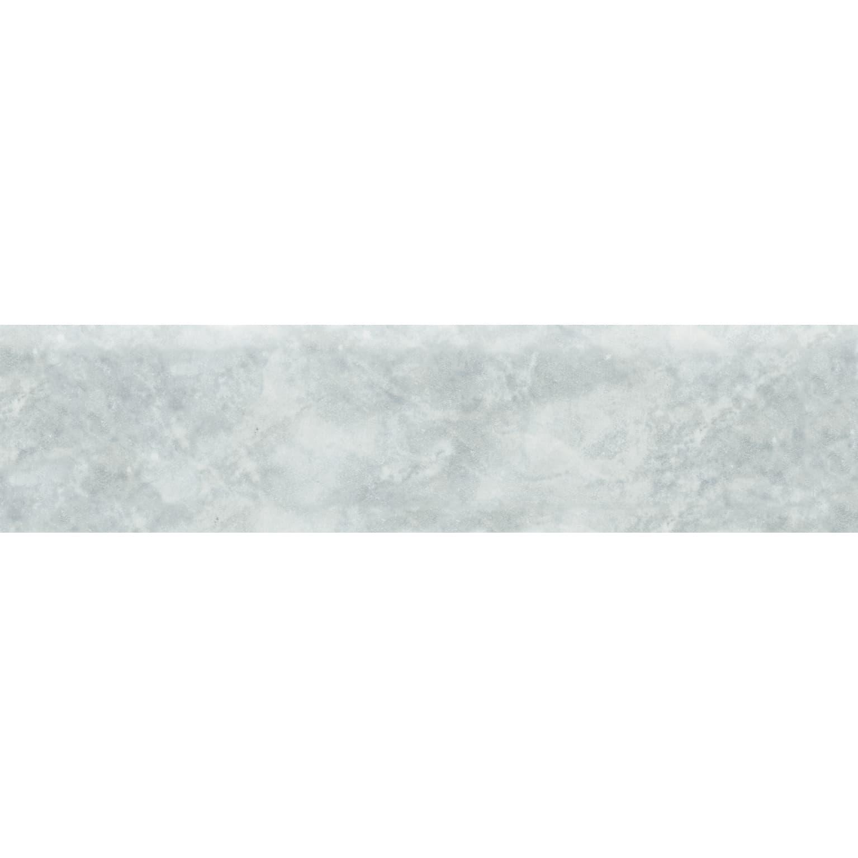 Mensole In Marmo Per Termosifoni battiscopa marmo h 8 x l 33.3 cm grigio
