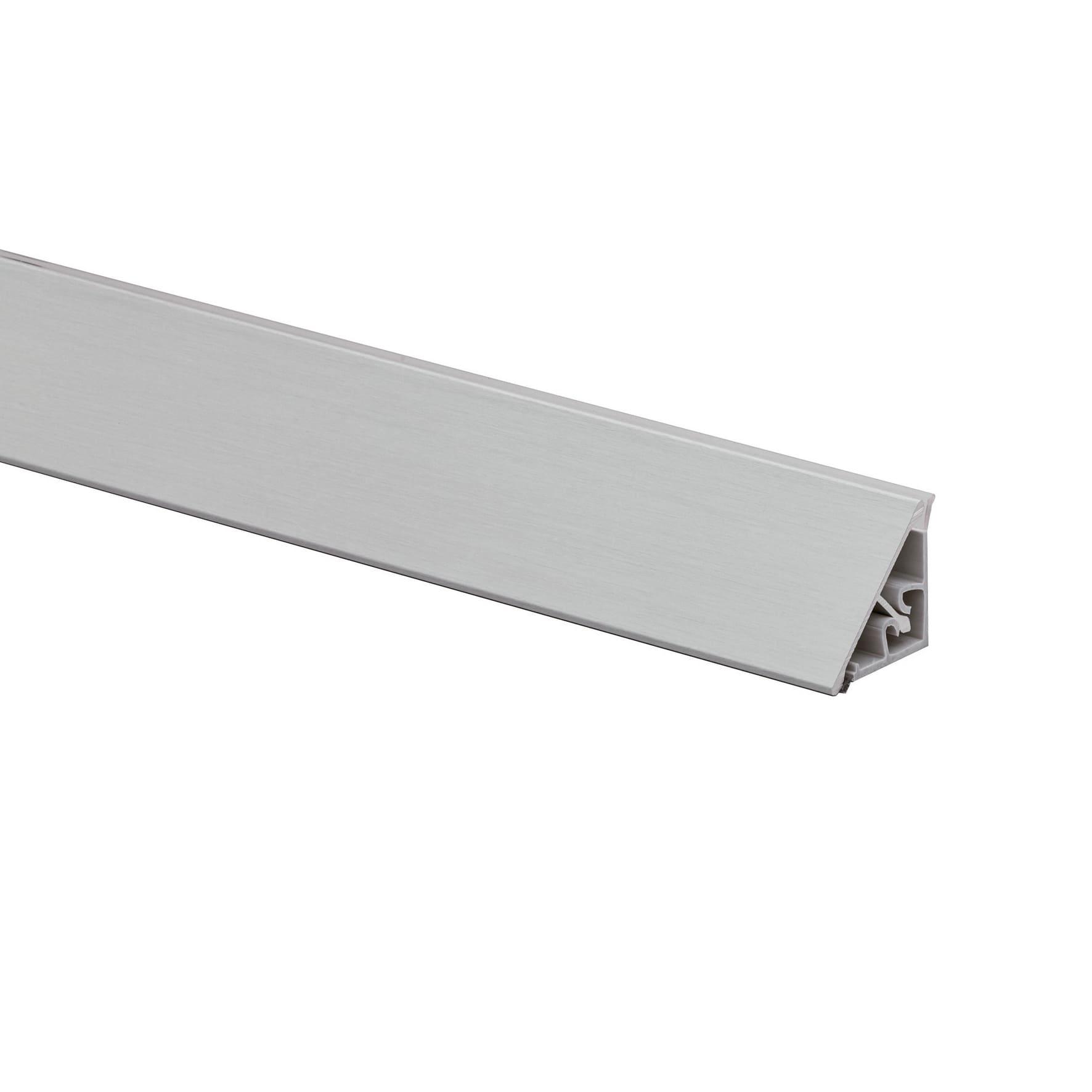 Alzatina Alluminio Per Cucina alzatina alluminio grigio l 300 x sp 2.7 cm