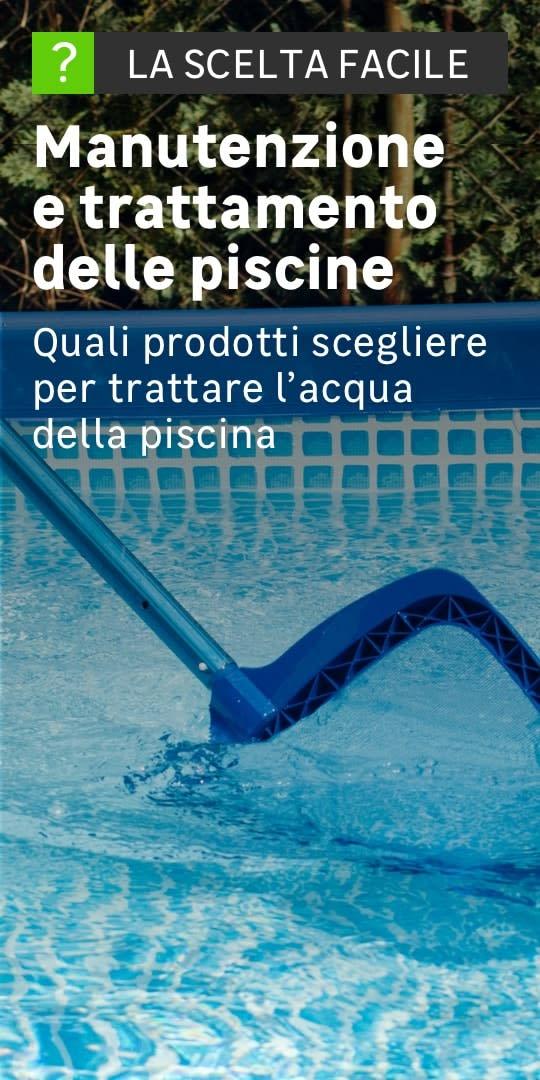 Accessori per piscine e coperture piscine prezzi e offerte for Prodotti per piscina prezzi