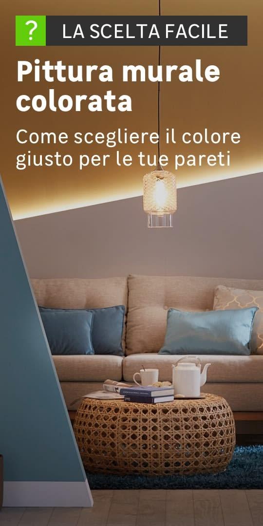 Colori Per Muri Interni Con Brillantini.Pitture Per Pareti Colorate Leroy Merlin