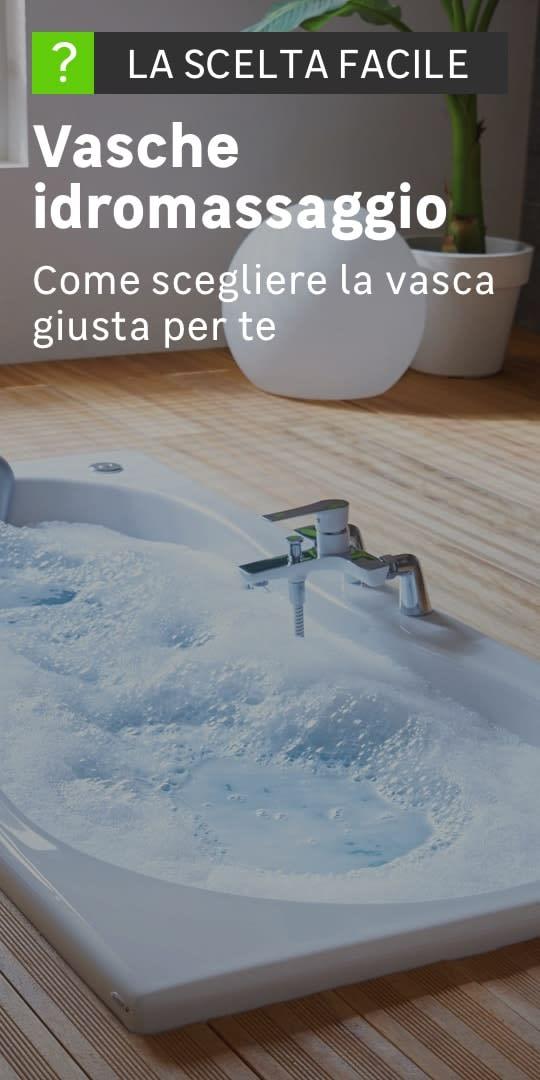 Vasche idromassaggio: la scelta facile