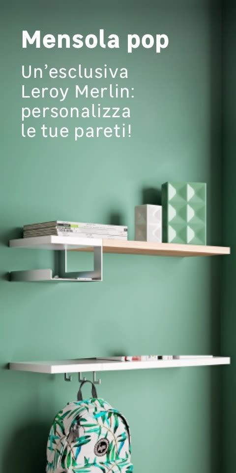 Mensole Per Camerette Leroy Merlin.Mensole Vendita Online Mensole Moderne In Legno In Vetro