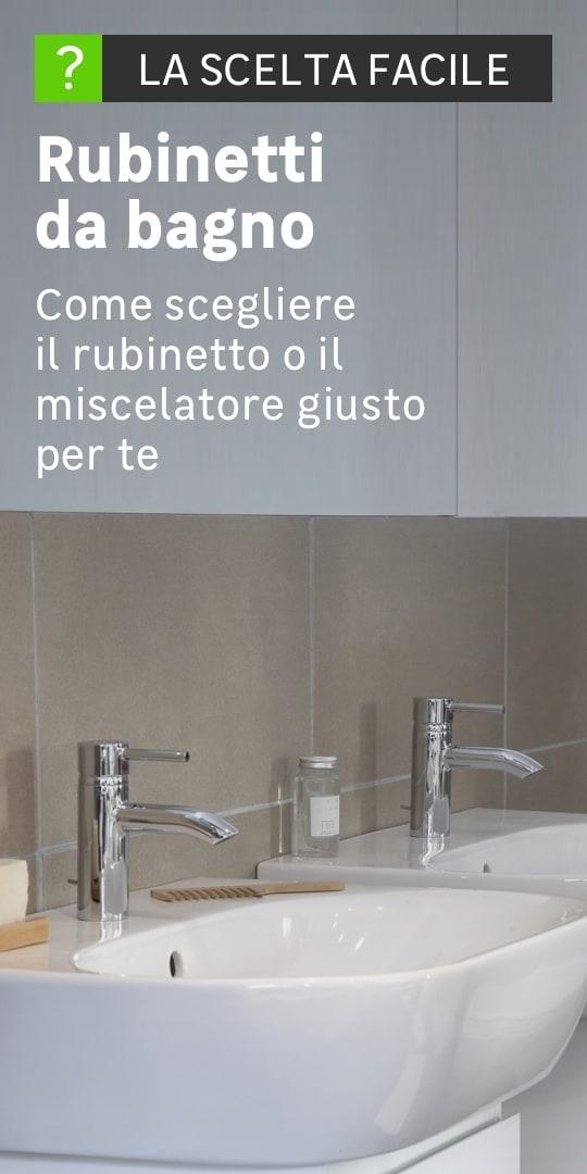 Rubinetteria bagno in set: prezzi e offerte | Leroy Merlin