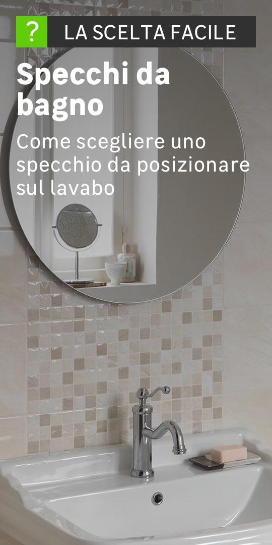 Cerco Specchio Per Bagno