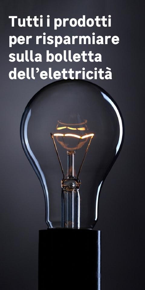 Prodotti per risparmiare sulla bolletta della luce