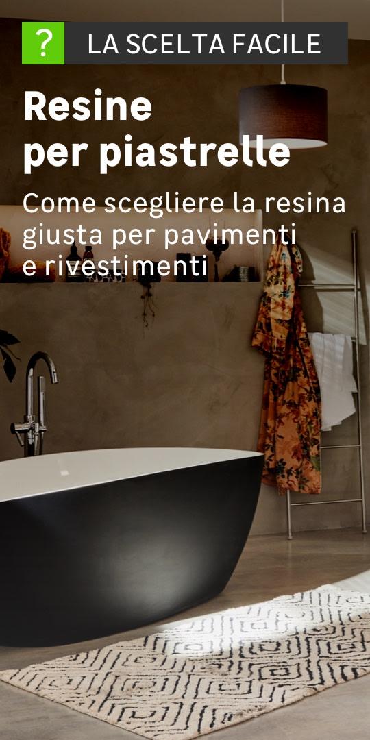 Resina per pavimenti prezzi e vendita online resine pavimenti for Piastrelle plastica giardino leroy merlin