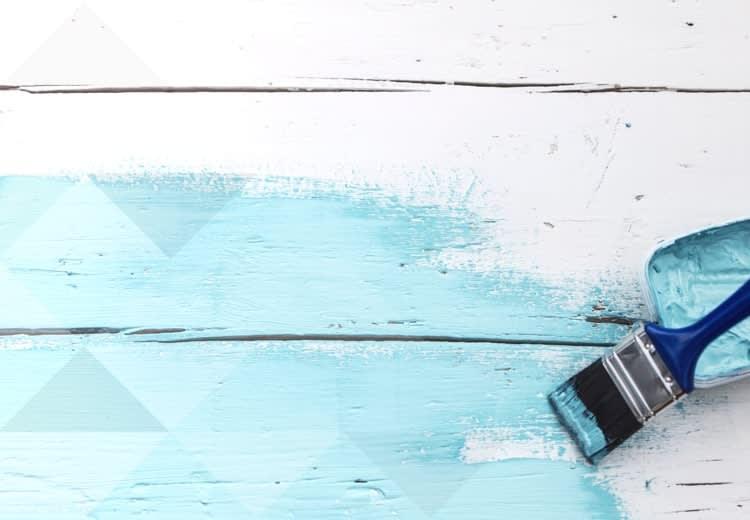 Scelta facile pittura decorativa per mobili