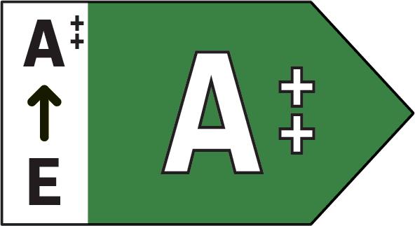 Classe energetica (da A ++ a E)