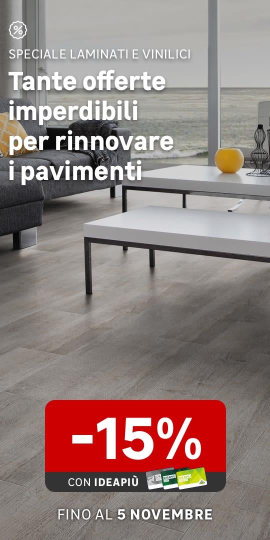 Promo web Pavimenti laminati e vinilici