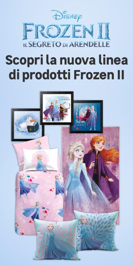 Linea prodotti Frozen 2
