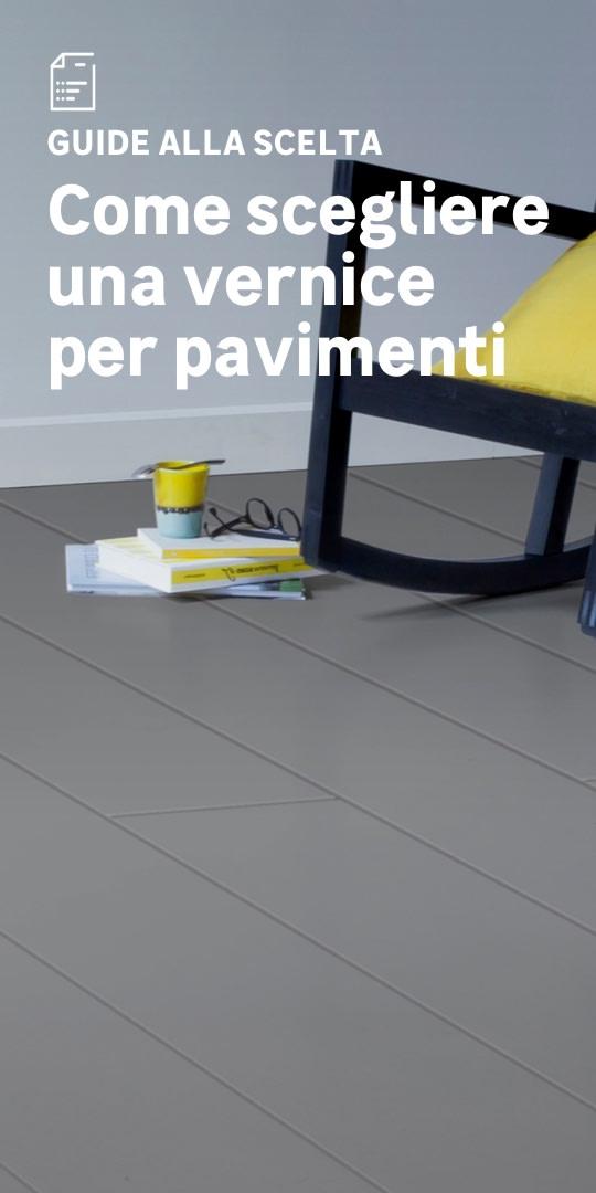 Vernice per pavimenti: la scelta facile