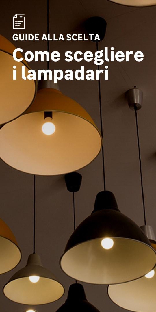 Lampadari: la scelta facile