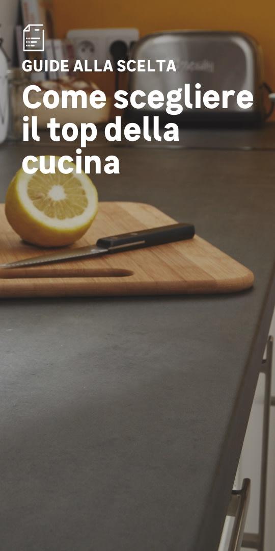 Top cucina: la scelta facile