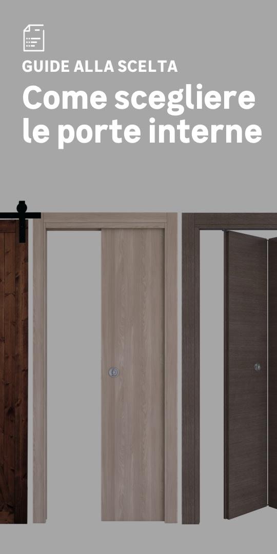 Porte interne: la scelta facile