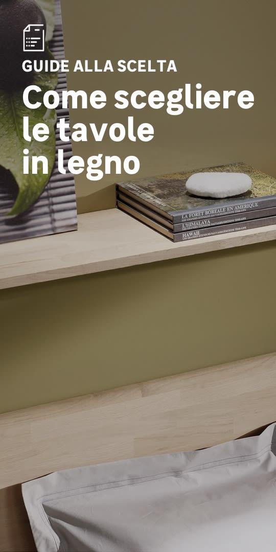 Tavole in legno: la scelta facile