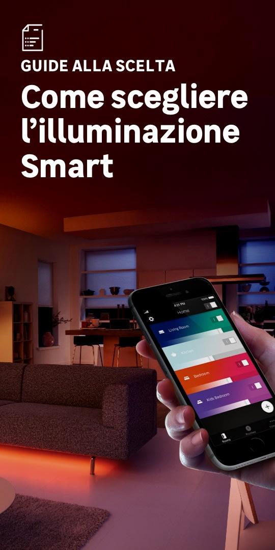 Illuminazione smart: la scelta facile