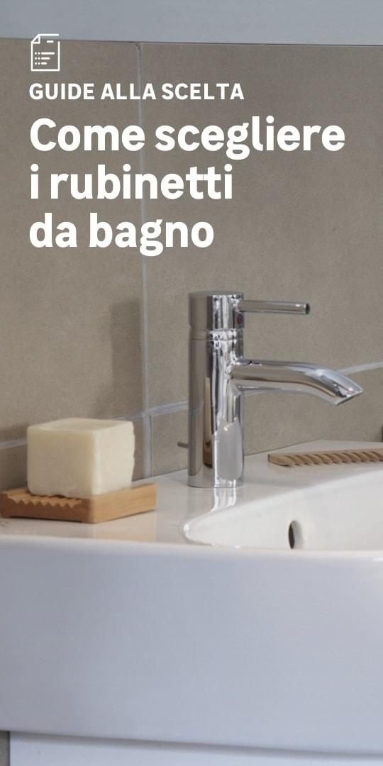 Rubinetti da bagno: la scelta facile