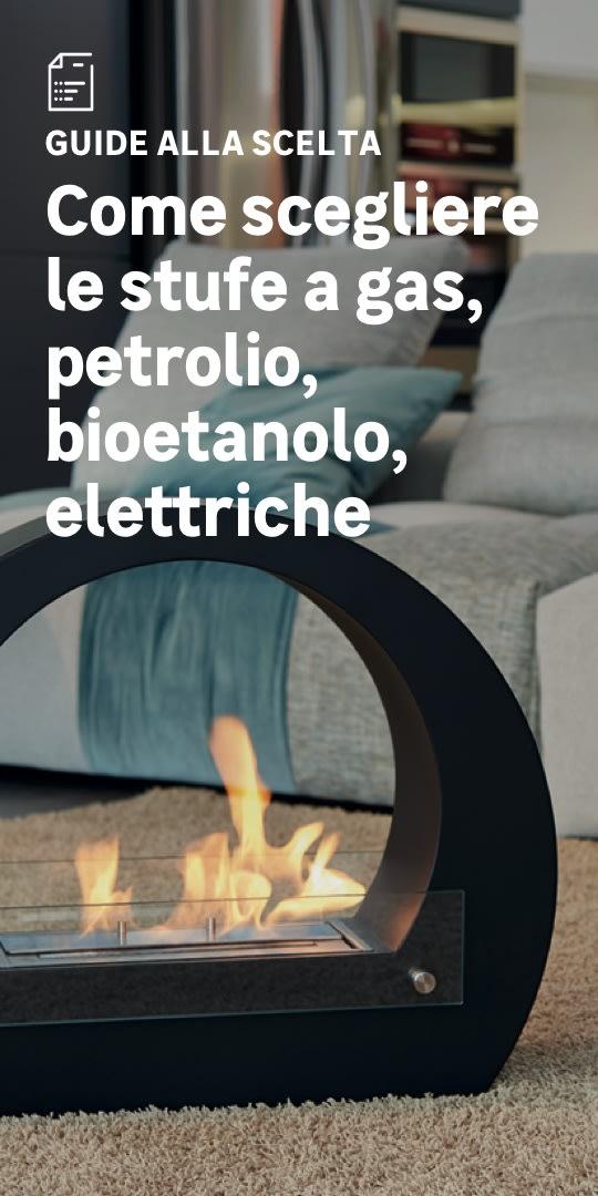 Stufe a gas, petrolio ed elettriche: la scelta facile
