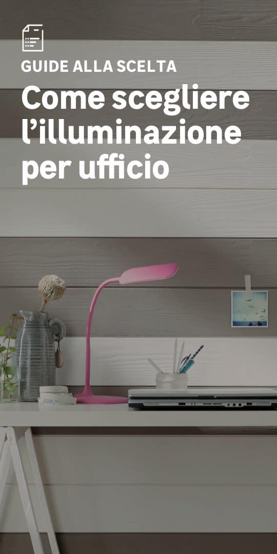 Illuminazione per ufficio: la scelta facile