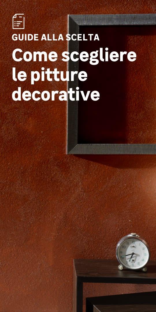 Pitture decorative: la scelta facile