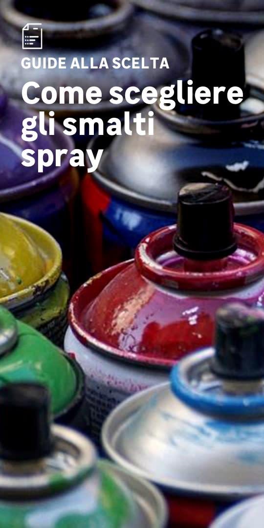 Smalti spray: la scelta facile